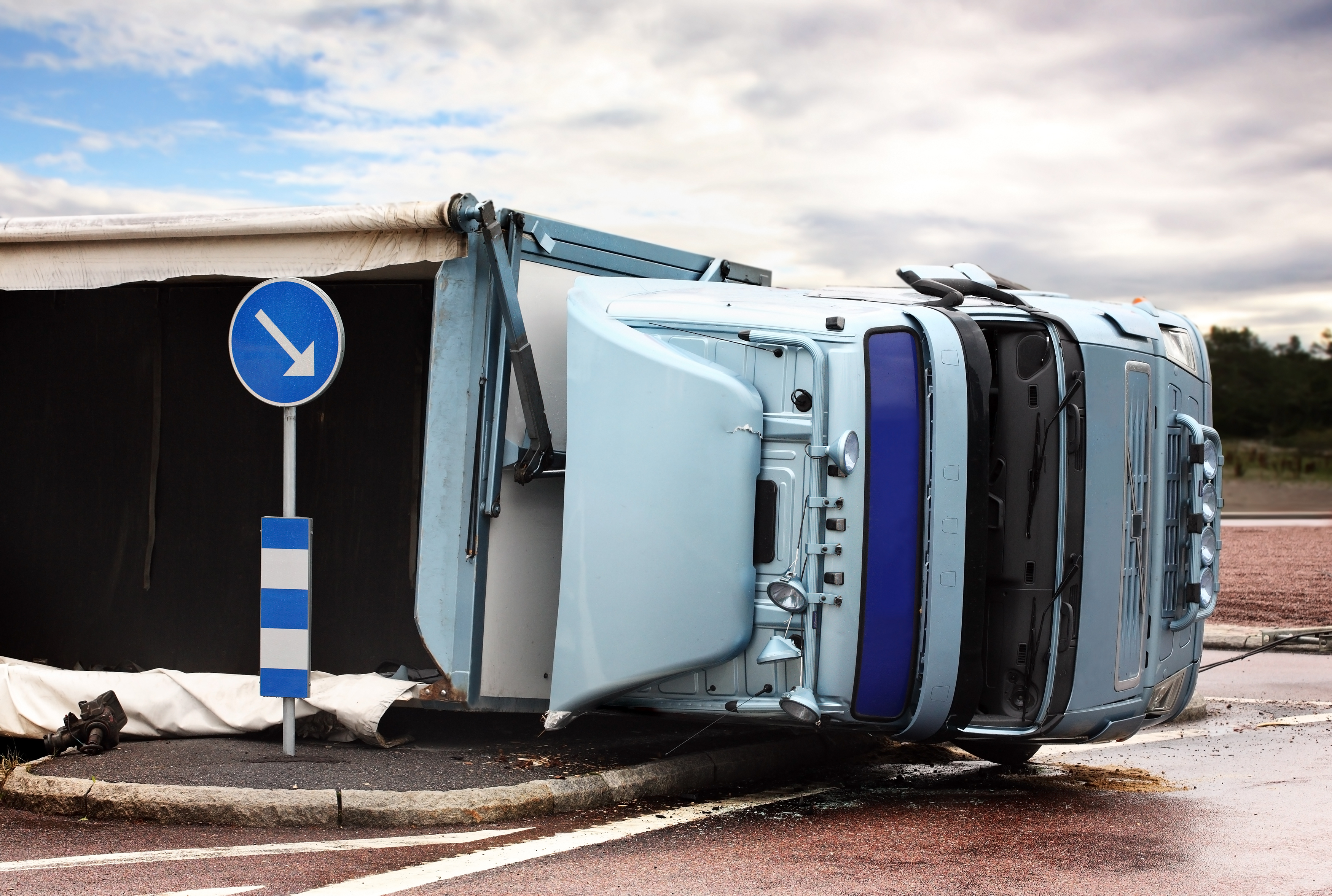 If I'm in a Wisconsin Truck Accident, Who is Responsible for My Injuries?