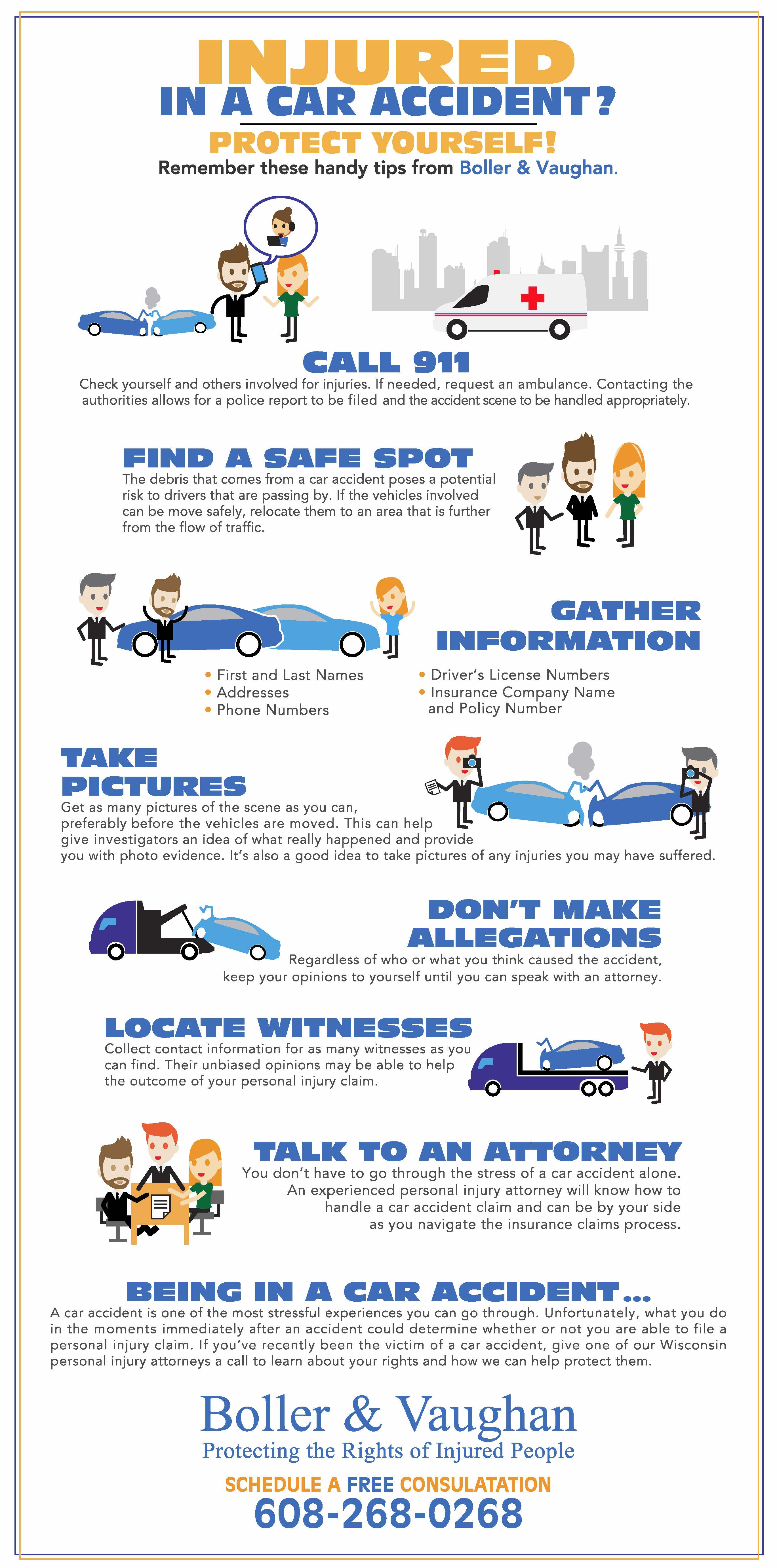 Infographic: What to do After a Car Accident - Boller & Vaughan